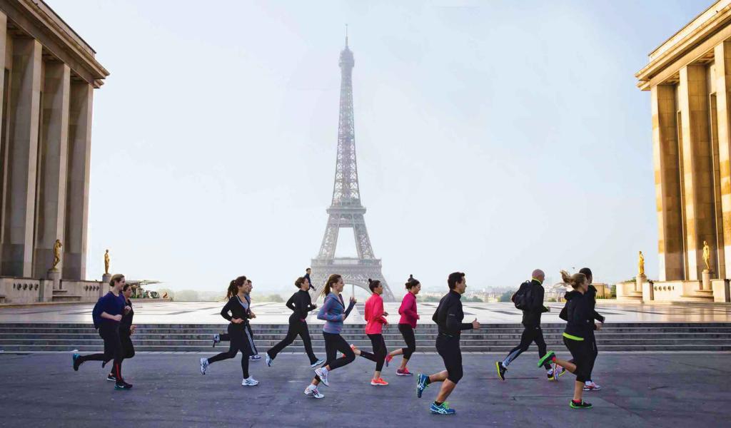 Correndo em Paris